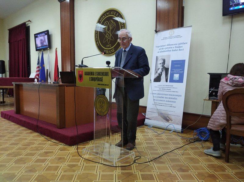 Akademia e Shkencave, një veprimtari shkencore për akademikun Bahri