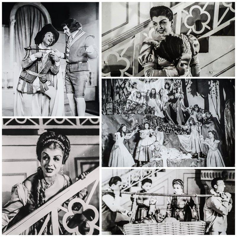 """Teatri: """"Gratë gazmore të Uindsorit"""" e 1959, me një"""