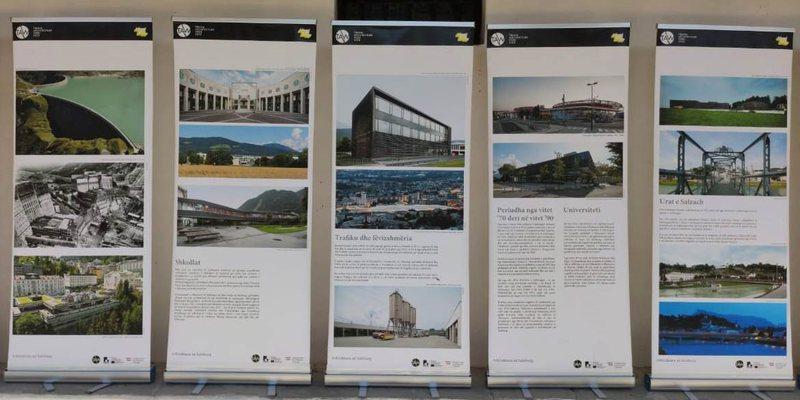 Arkitektura në Salzburg, një ekspozitë në muzeun