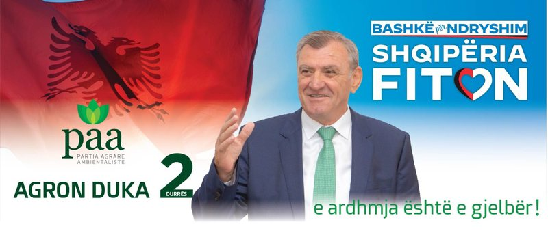 Agron Duka: Në 25 prill shqiptarët do braktisin dhe