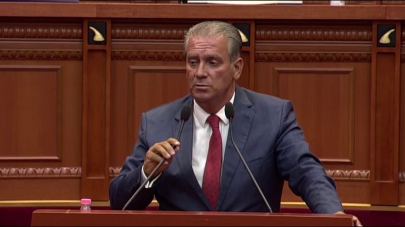 Balli Kombëtar Adriatik Party leader Alimadhi whitewashes the list of
