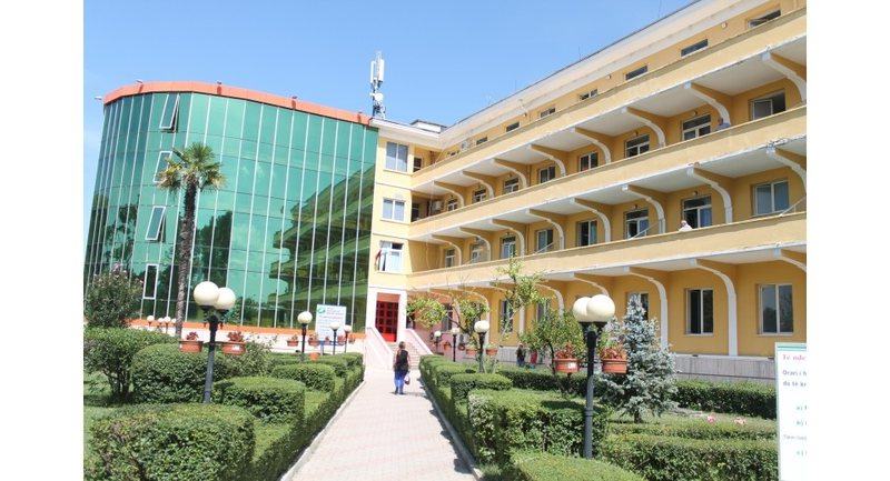 She was hospitalized for days in Shefqet Ndroqi hospital, the coronavirus took