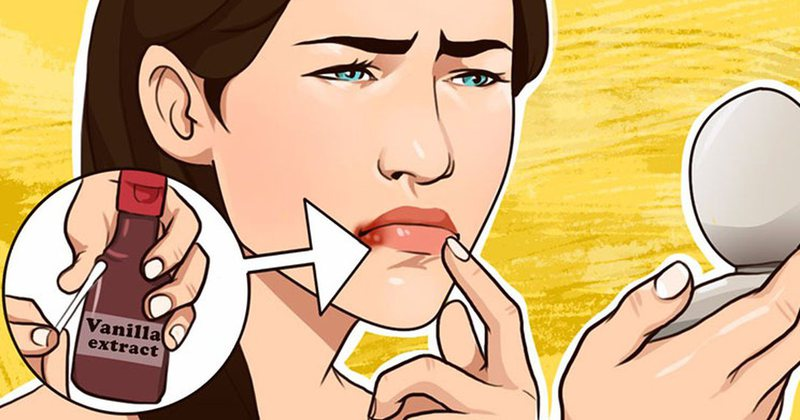 Do you lose your immunity and develop herpes around the lip area? How to speed
