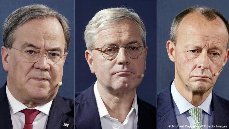 DW: Tre kandidatët për kryetar të CDU që kanë shanse