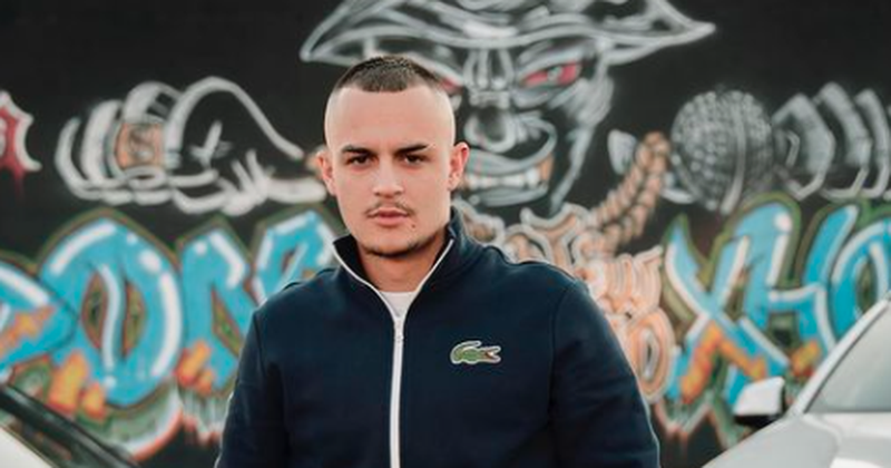 A few months ago it was not known! Albanian rapper attracts the attention of