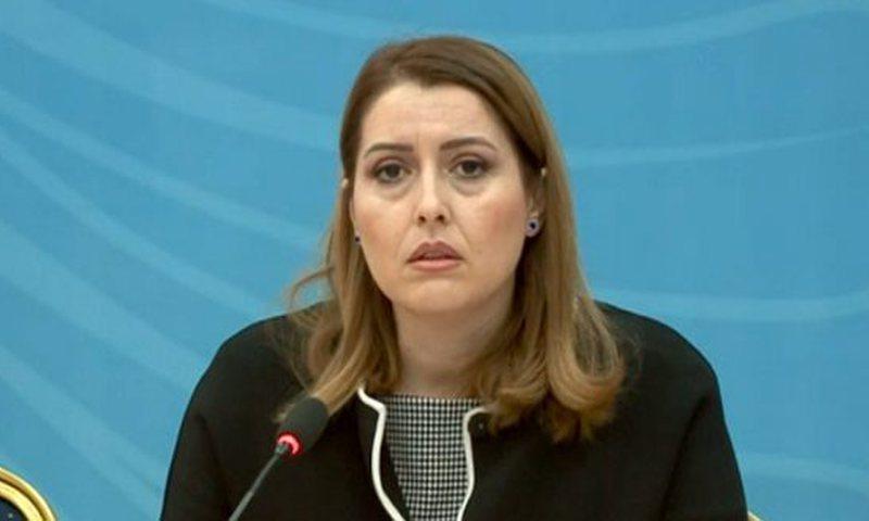 """""""Jam e tmerruar"""", ministrja Manastirliu publikon foton e Bashës"""