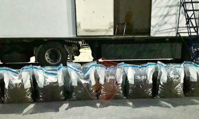 Kamioni me drogë në Kapshticë, policia del me deklaratë