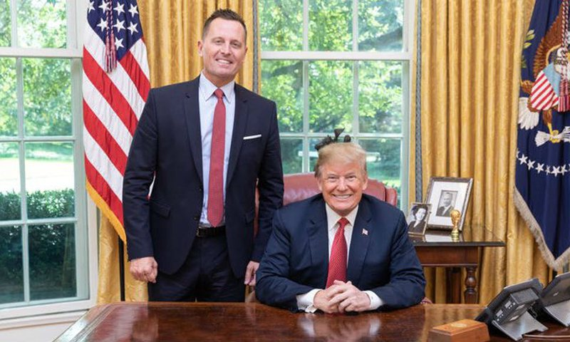 November 3 US Election / Ambassador Grenell has a demand for the Albanian