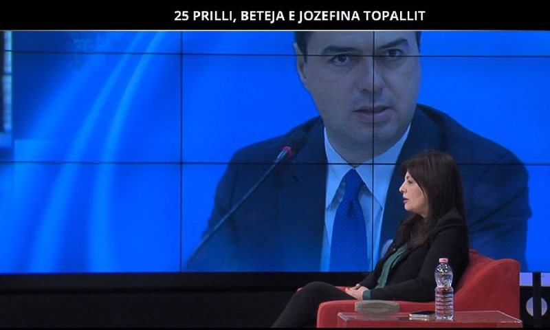 April 25 / Jozefina Topalli says openly: DP and Meta do not overthrow Rama, they