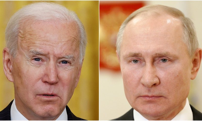 VOA: Phone conversation with Putin amid tensions over ... (DETAILS)