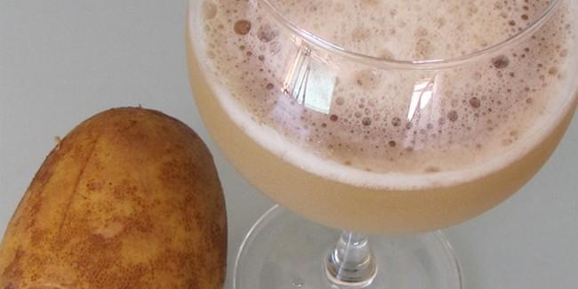 Lëngu i patates për trajtimin e ulçerave të stomakut