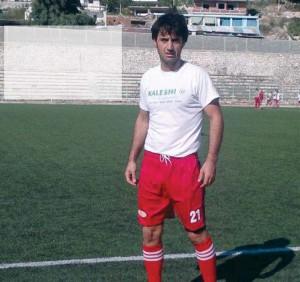 the official of the Përmet club, Bledar Hajredini