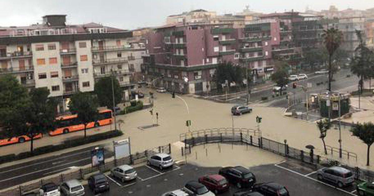 Foto/ Alarm i kuq nga moti i keq në Itali. Mbyllen disa shkolla - Lajme nga Bota