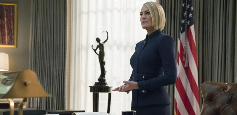 Sezoni i fundit i House of Cards, Robin Wright: Trump na prishte planet, me