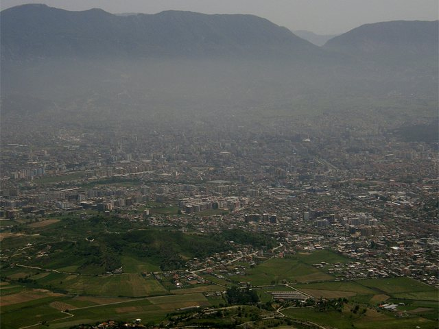 Mortality from air pollution in Albania, the lowest in the Region
