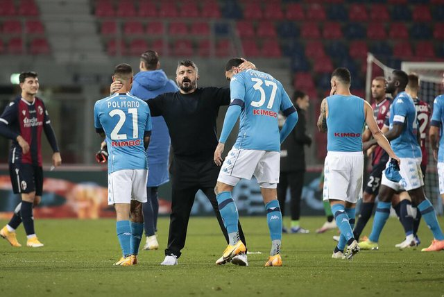 High tension at Napoli, Gattuso excludes defender from training