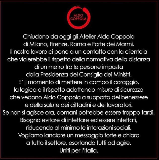 Koronavirus/ Aldo Coppola, rrjeti i famshëm i salloneve të bukura