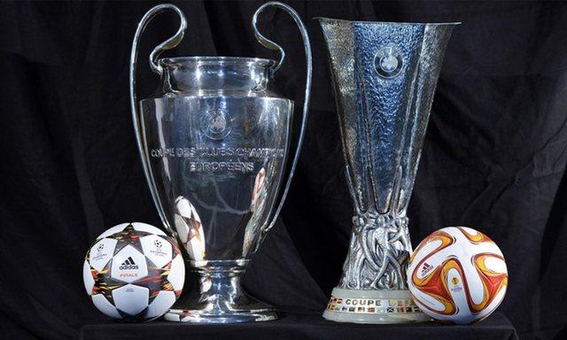 UEFA pezullon Champions League dhe Europa League