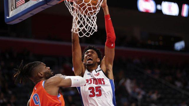 Pozitiv edhe basketbollisti i Detroit Pistons, bëhen tre në NBA
