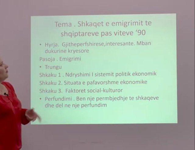 Gazetarja e Anabel zbulon pse të rinjtë shkruajnë keq shqip!