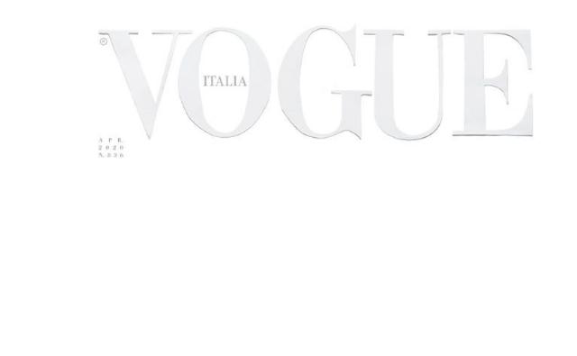 Kopertina prekëse e Vogue Italia për muajin prill