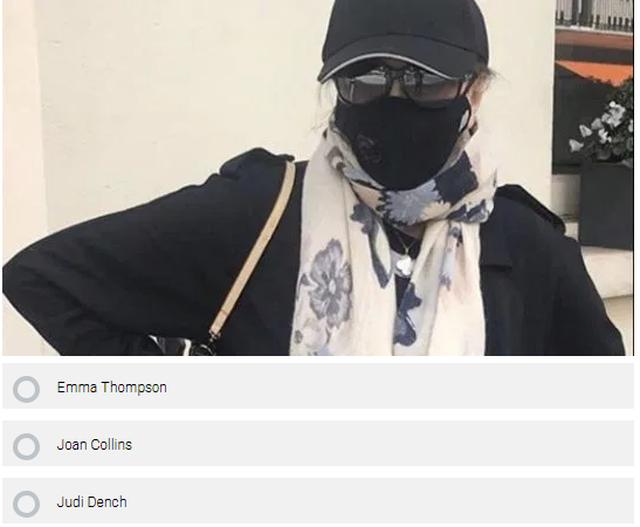 Test/ E gjen dot cili vip fshihet pas maskës?