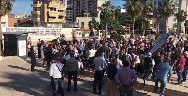 Regjisori Budina dhe demokrati Xhaferri procedohen për protestën