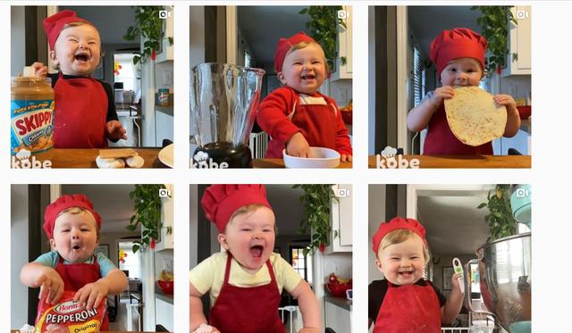 Blogeri më i vogël i gatimit është 1-vjeçari që