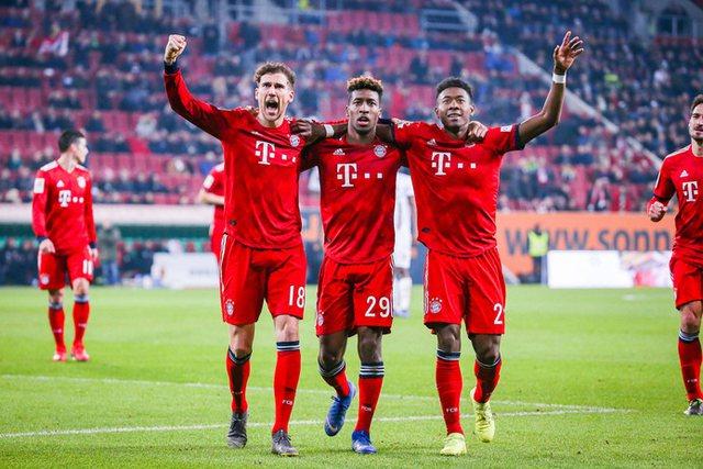 Bayerni makineri, shkatërron 5-2 Eintrachtin dhe shkon i qetë në
