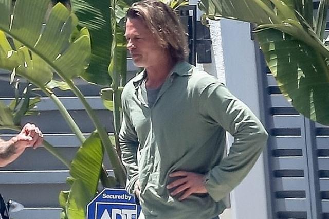 Karantina i nxjerr bojën Brad Pitt-it