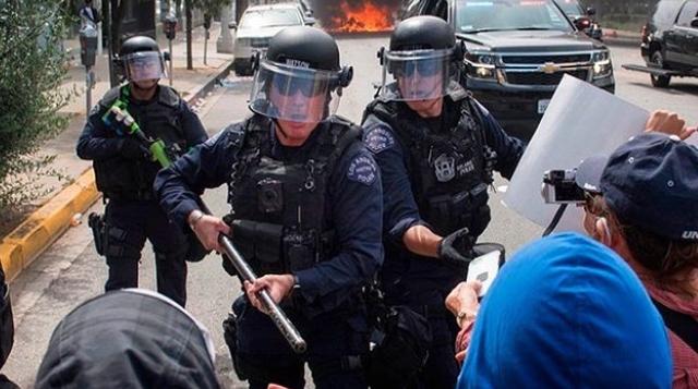 5 netë rresht protesta! Policët amerikanë u përgjigjen me