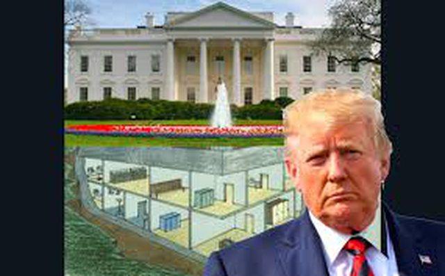 Trump u fsheh në bunker nga protestuesit? CNN zbulon çfarë