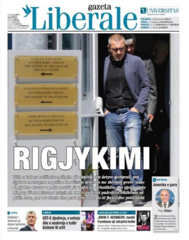 Shtypi/ Titujt kryesorë të gazetave për datën 27 qershor