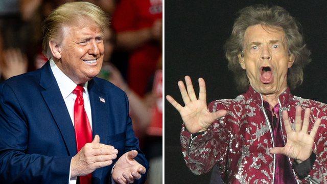 Këngët për fushata zgjedhore, Rolling Stones paralajmëron