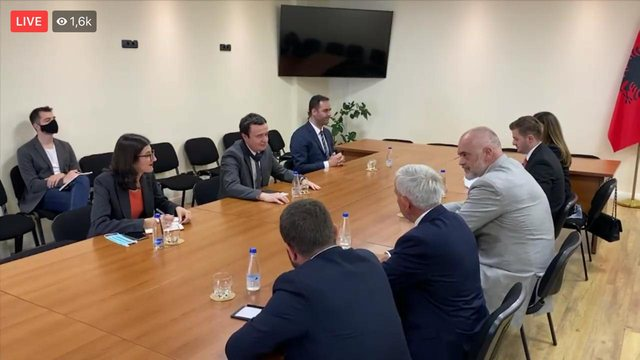 Limaj zbardh takimin me Ramën në Kosovë: Si do koordinohemi pas