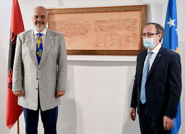Kryeministri i Kosovës vjen nesër në Tiranë! (Axhenda)