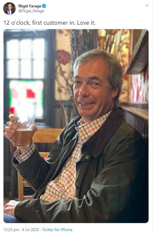 Politikani britanik shkon i pari në barin e lagjes: E bëra testin e