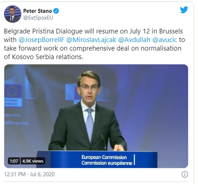 Caktohet data e takimit Hoti- Vuçiç: Dhe jo në Uashington