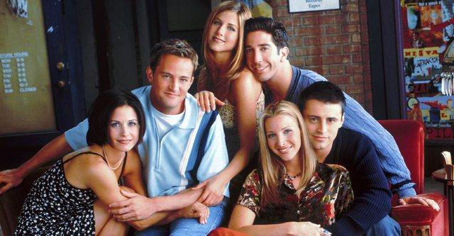 'Friends' nisin xhirimet, por jo ashtu si e kishin