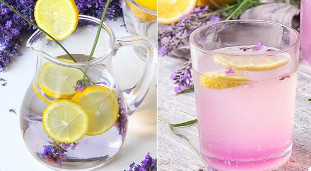 Limonada me aromë livando që largon ankthin dhe stresin