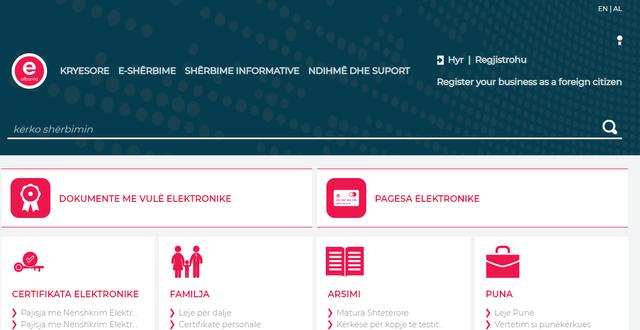 Raporti i OKB pe?r qeverisjen digjitale/ Shqipe?ria le? pas Italine?,