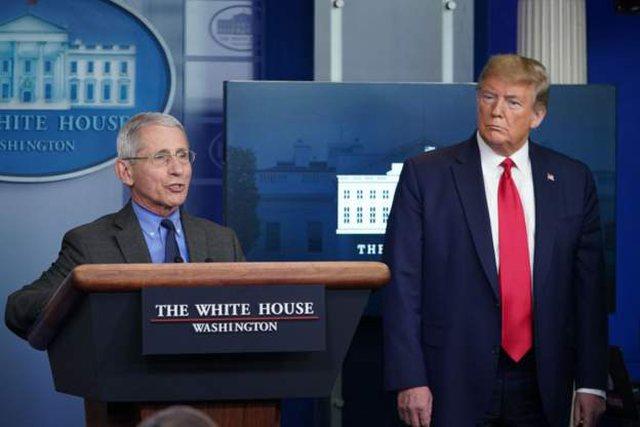 Trump nuk flet me doktor Faucin që në qershor: Çfarë ka