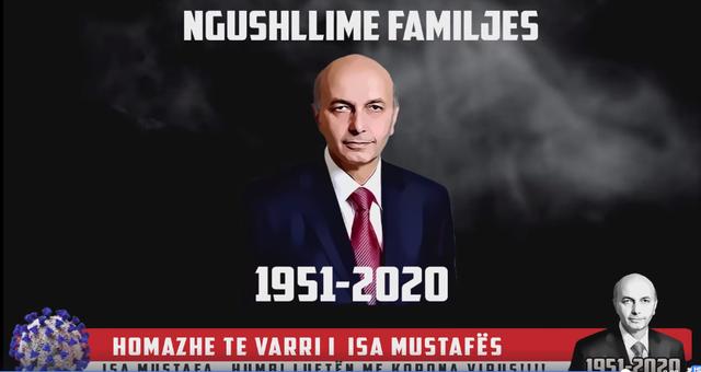 Isa Mustafën e bënë të vdekur nga virusi me foto e video: