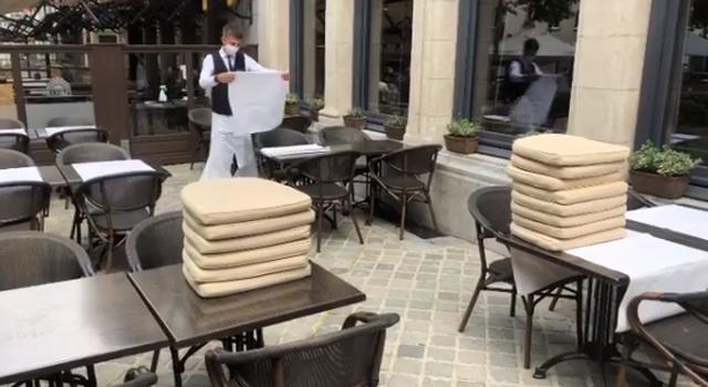 Video nga restorantet më të famshme në Bruksel që nuk shkon