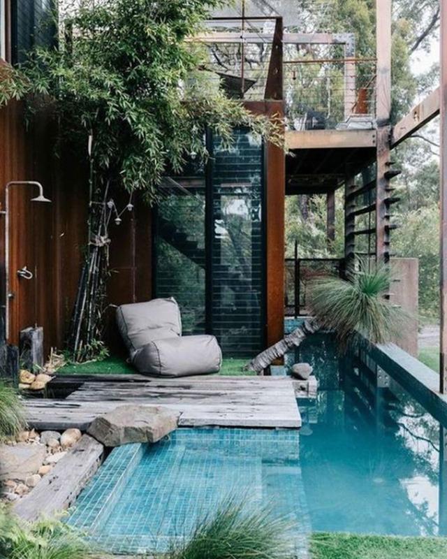 Po të kishe një nga këto pishina, do t`i bëje me qejf