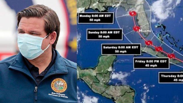 Florida mbyll qendrat e testimit: Një stuhi e fuqishme pritet të