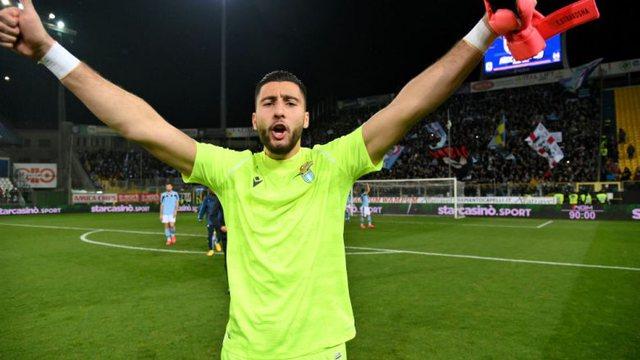 Strakosha, i palodhuri i Serie A, nuk ka humbur asnjë minutë