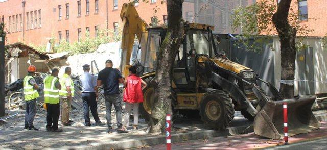 """Pranë shkollës """"Kosova"""" po ndërtohen terrene sportive"""