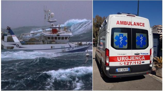Gjendet e pajetë gruaja pas përmbysjes së anijes me tre