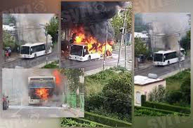 Gruaja rrëfen momentin kur autobusi në Paskuqan përfshihet nga